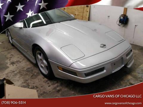 1996 Chevrolet Corvette for sale at Cargo Vans of Chicago LLC in Mokena IL