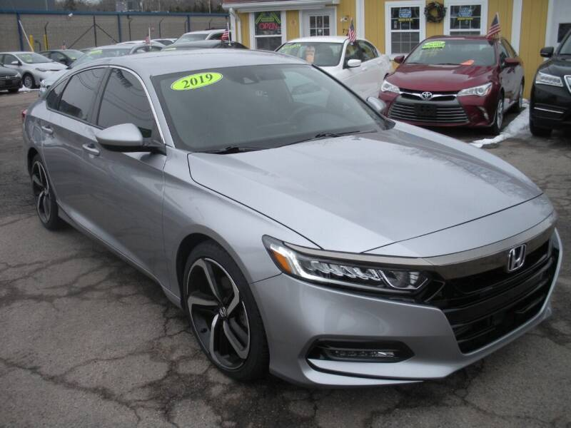2019 Honda Accord for sale at One Stop Auto Sales in North Attleboro MA