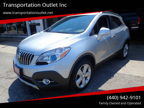 2015 Buick Encore for sale at Transportation Outlet Inc in Eastlake OH