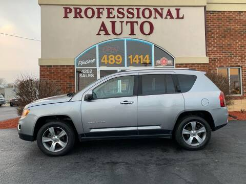 2016 Jeep Compass for sale at Professional Auto Sales & Service in Fort Wayne IN