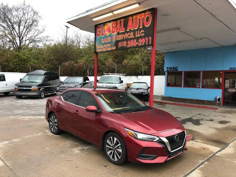 2020 Nissan Sentra for sale at Global Auto Sales and Service in Nashville TN