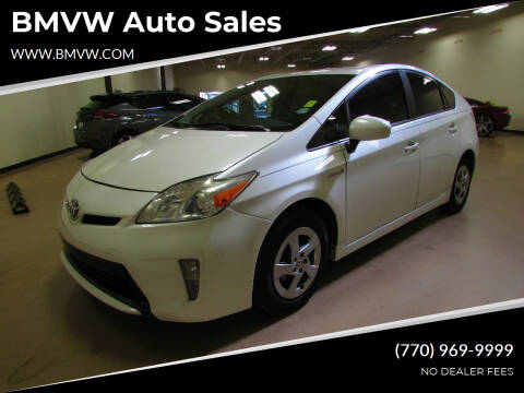 2015 Toyota Prius for sale at BMVW Auto Sales - Hybrids in Union City GA
