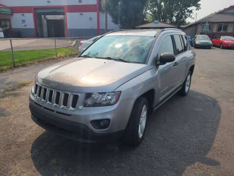 2016 Jeep Compass for sale at Silverline Auto Boise in Meridian ID