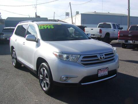 2012 Toyota Highlander for sale at Primo Auto Sales in Merced CA