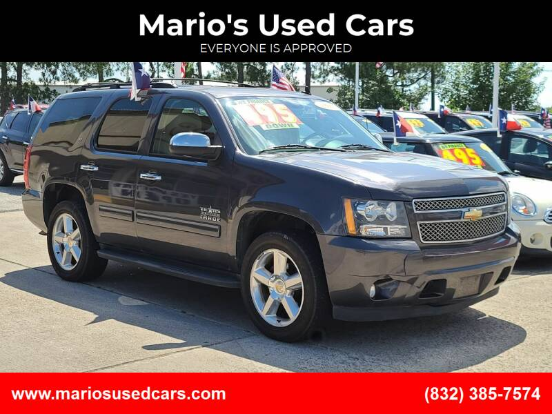 2010 Chevrolet Tahoe for sale at Mario's Used Cars in Houston TX