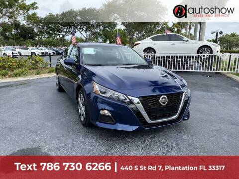 2020 Nissan Altima for sale at AUTOSHOW SALES & SERVICE in Plantation FL