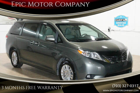 2011 Toyota Sienna for sale at Epic Motor Company in Chantilly VA