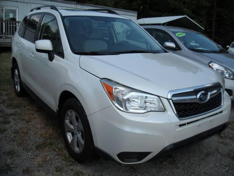 2014 Subaru Forester for sale at Euroasian Motors LLC in Richmond VA