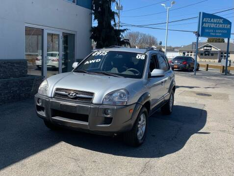 2008 Hyundai Tucson for sale at Atlantic AutoCenter in Cranston RI