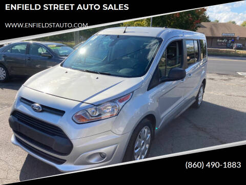 2016 Ford Transit Connect Wagon for sale at ENFIELD STREET AUTO SALES in Enfield CT