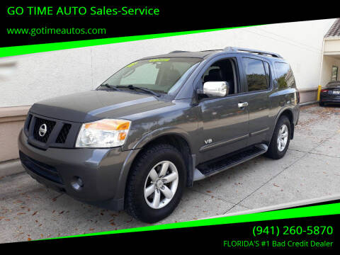 2008 Nissan Armada for sale at Go Time Automotive in Sarasota FL