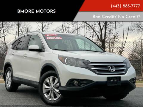 2012 Honda CR-V for sale at Bmore Motors in Baltimore MD