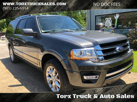 2016 Ford Expedition EL for sale at Torx Truck & Auto Sales in Eads TN