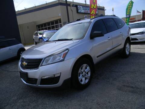 2013 Chevrolet Traverse for sale at Meridian Auto Sales in San Antonio TX