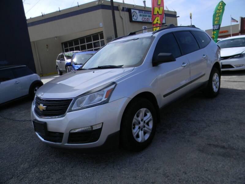 2013 Chevrolet Traverse for sale at Meridian Auto Sales in San Antonio TX