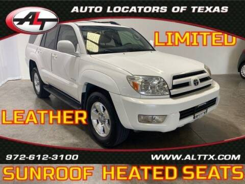 2005 Toyota 4Runner for sale at AUTO LOCATORS OF TEXAS in Plano TX