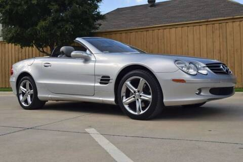 2006 Mercedes-Benz SL-Class for sale at European Motor Cars LTD in Fort Worth TX