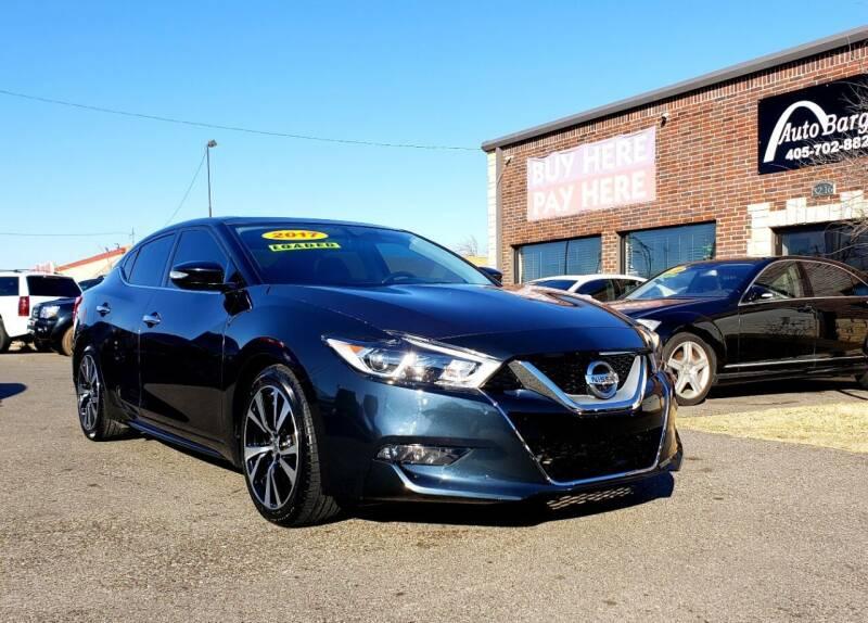 2017 Nissan Maxima for sale at AUTO BARGAIN, INC. #2 in Oklahoma City OK