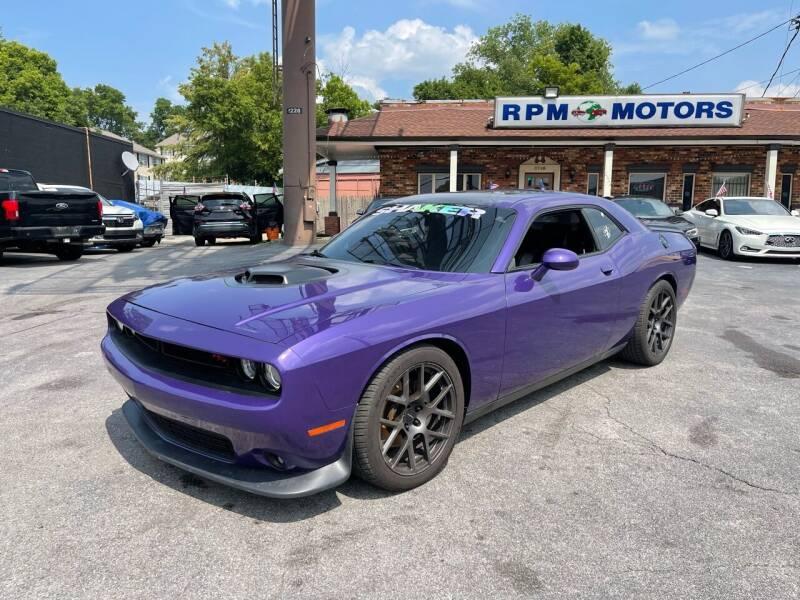 2016 Dodge Challenger for sale at RPM Motors in Nashville TN