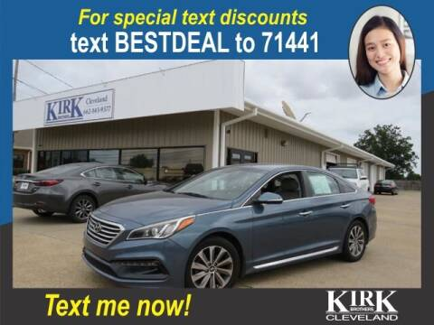 2015 Hyundai Sonata for sale at Kirk Brothers of Cleveland in Cleveland MS