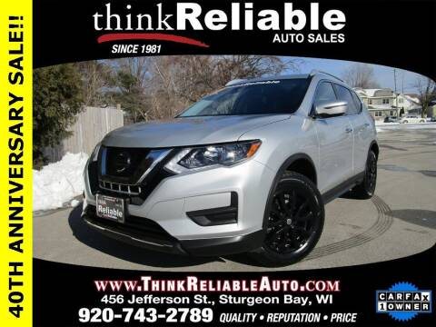 2020 Nissan Rogue for sale at RELIABLE AUTOMOBILE SALES, INC in Sturgeon Bay WI