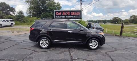 2013 Ford Explorer for sale at T & G Auto Sales in Florence AL