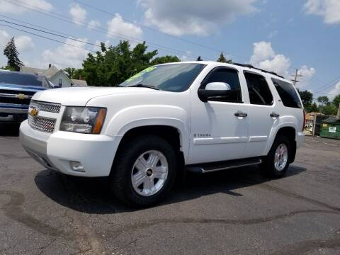2008 Chevrolet Tahoe for sale at DALE'S AUTO INC in Mount Clemens MI