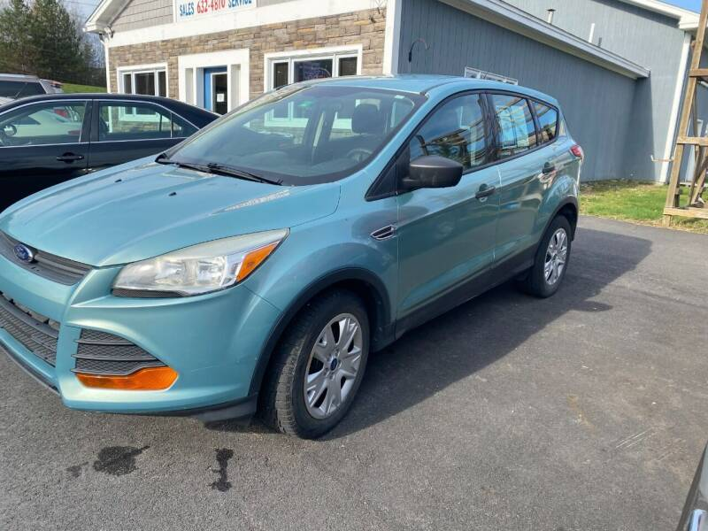2013 Ford Escape for sale at Mascoma Auto INC in Canaan NH