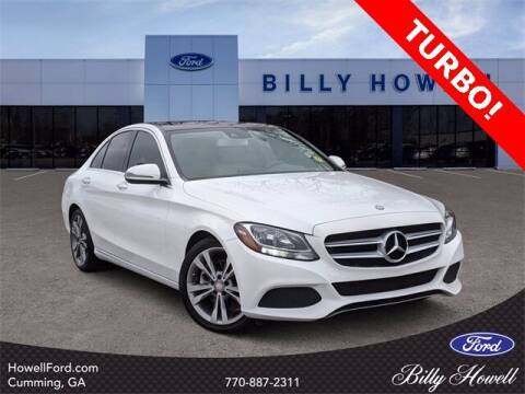 2016 Mercedes-Benz C-Class for sale at BILLY HOWELL FORD LINCOLN in Cumming GA