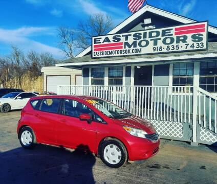 2015 Nissan Versa Note for sale at EASTSIDE MOTORS in Tulsa OK