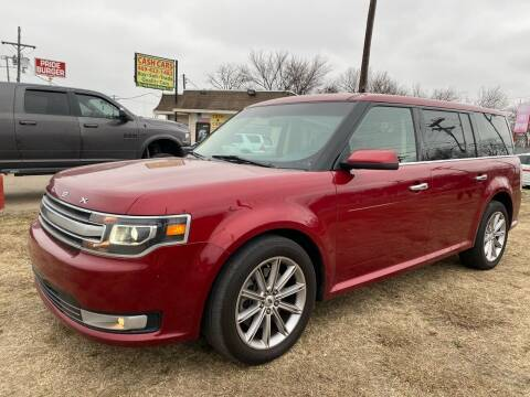2014 Ford Flex for sale at Texas Select Autos LLC in Mckinney TX