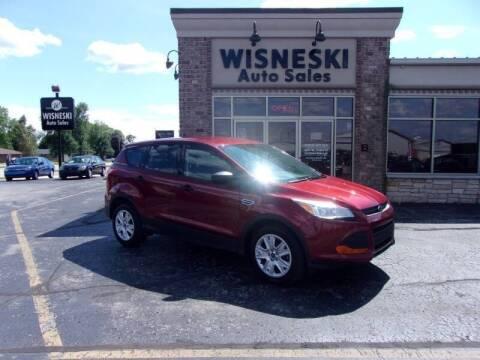 2014 Ford Escape for sale at Wisneski Auto Sales, Inc. in Green Bay WI