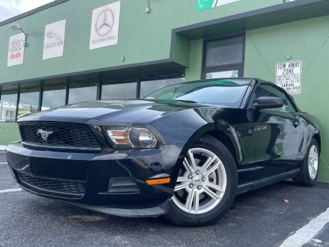 2012 Ford Mustang for sale at KARZILLA MOTORS in Oakland Park FL