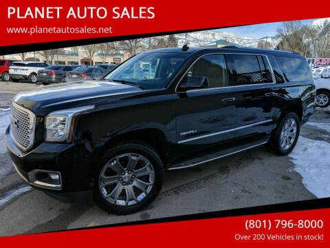 2015 GMC Yukon XL for sale at PLANET AUTO SALES in Lindon UT