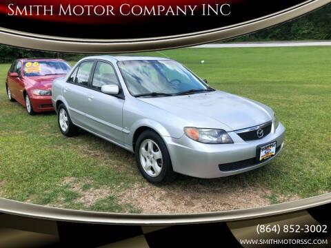 2002 Mazda Protege for sale at Smith Motor Company INC in Mc Cormick SC