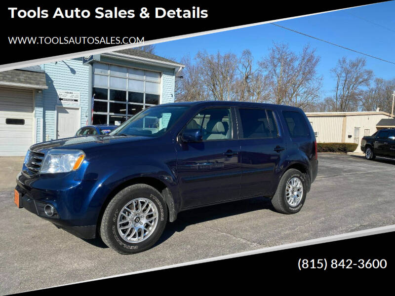 2013 Honda Pilot for sale at Tools Auto Sales & Details in Pontiac IL