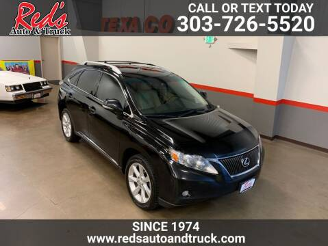 2012 Lexus RX 350 for sale at Red's Auto and Truck in Longmont CO
