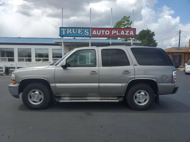 2002 Chevrolet Tahoe for sale at True's Auto Plaza in Union Gap WA