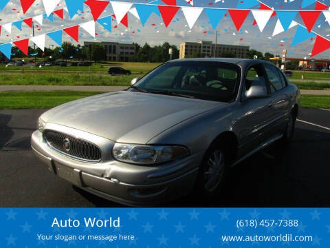 2004 Buick LeSabre for sale at Auto World in Carbondale IL