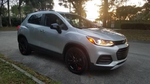 2018 Chevrolet Trax for sale at DELRAY AUTO MALL in Delray Beach FL