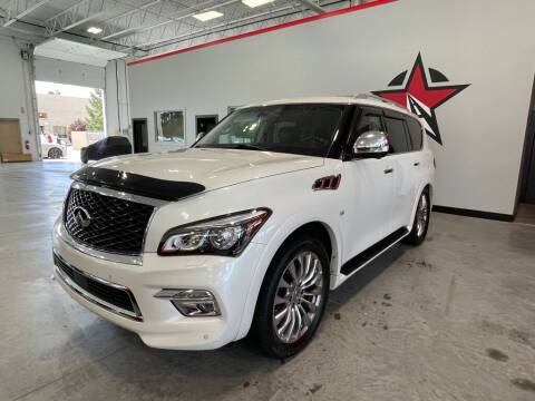 2016 Infiniti QX80 for sale at CarNova - Shelby Township in Shelby Township MI