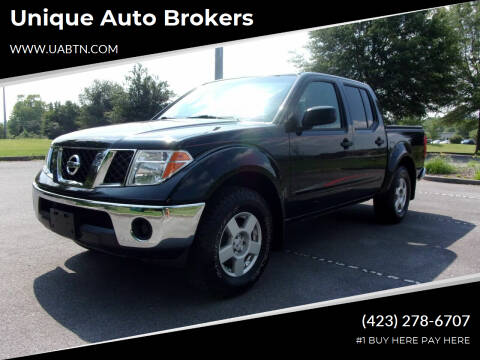 2008 Nissan Frontier for sale at Unique Auto Brokers in Kingsport TN
