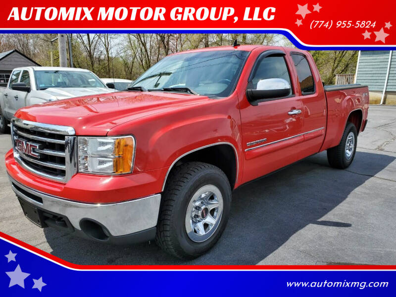 2013 GMC Sierra 1500 for sale at AUTOMIX MOTOR GROUP, LLC in Swansea MA