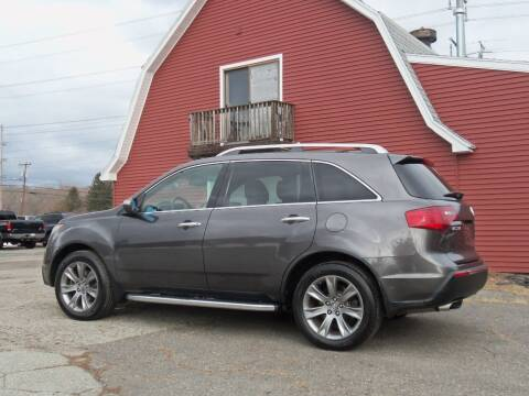 2011 Acura MDX for sale at Red Barn Motors, Inc. in Ludlow MA