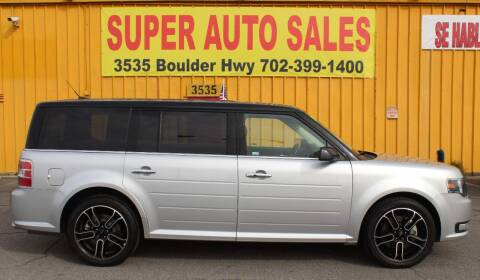 2015 Ford Flex for sale at Super Auto Sales in Las Vegas NV