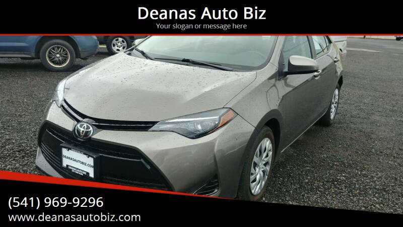 2017 Toyota Corolla for sale at Deanas Auto Biz in Pendleton OR