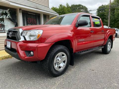 2013 Toyota Tacoma for sale at Real Deal Auto Sales in Auburn ME
