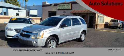 2005 Chevrolet Equinox for sale at Auto Solutions in Mesa AZ