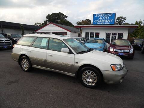 2002 Subaru Outback for sale at Surfside Auto Company in Norfolk VA