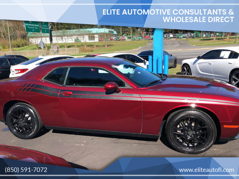 2017 Dodge Challenger for sale at Elite Automotive Consultants & Wholesale Direct in Tallahassee FL